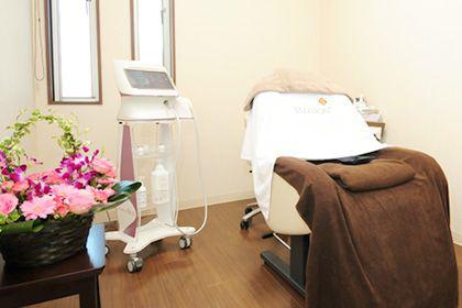 熊本県八代市の美容皮膚科の脱毛機器の写真
